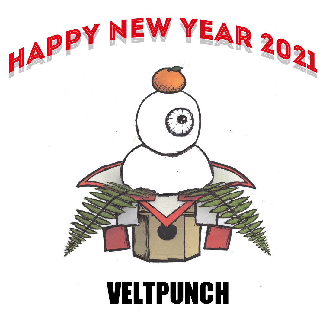 HAPPY NEW YEAR 2021 from VELTPUNCH